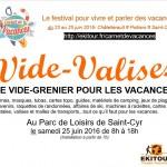 Inscrivez-vous au Vide Valise : le vide grenier pour les vacances