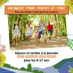 Vacances pour toutes et tous avec la ville de Poitiers : les premiers départs dès août 2020 !